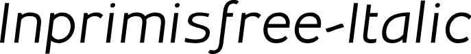 Preview image for Inprimisfree-Italic