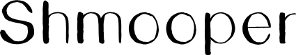 Preview image for Shmooper Font