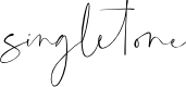 Preview image for singletone Font