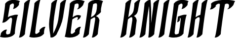 Preview image for SILVER KNIGHT Font