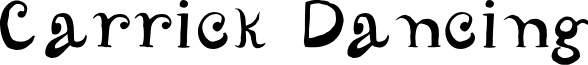 CarrickDancing font