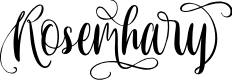 Preview image for Rosemhary Font