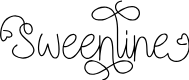 Preview image for Sweenline Font