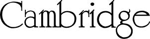Preview image for Cambridge Medium Font