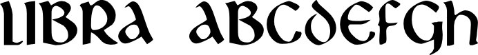 Preview image for Libra Font