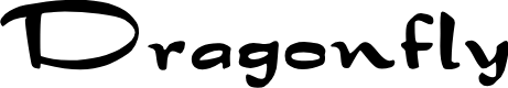 Preview image for Dragonfly Font