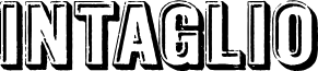 Intaglio DEMO font