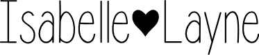 Preview image for Isabelle Layne Font