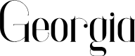 Preview image for Georgia Font