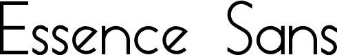 Preview image for Essence Sans Font