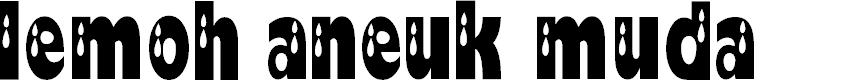Preview image for koplack Font