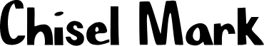 Chisel Mark