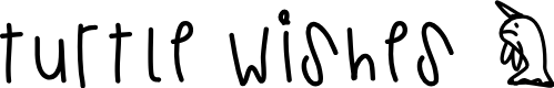 Preview image for TurtleWishes Font
