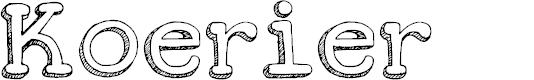 Preview image for DKKoerier Font
