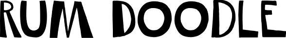 Preview image for DKRumDoodle Font