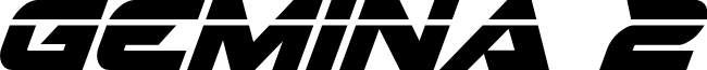 Gemina 2 Laser Italic
