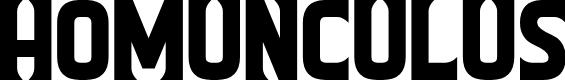 Preview image for Homunculus Font