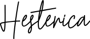 Preview image for Hesterica Font