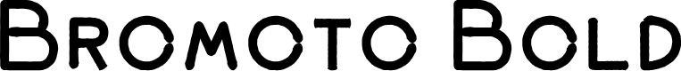 Preview image for Bromoto Bold Font