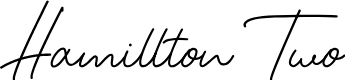 Preview image for Hamillton Two Font