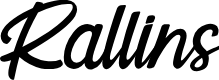 Preview image for Rallins Font