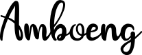 Preview image for Amboeng Font