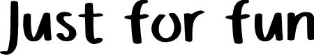 Preview image for Justforfun Regular Font