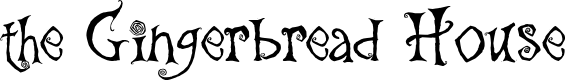 Preview image for the Gingerbread House Font