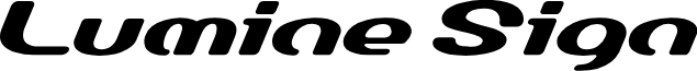 LumineSign Bold