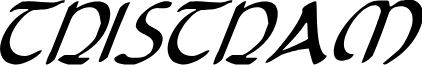 Tristram Condensed Italic