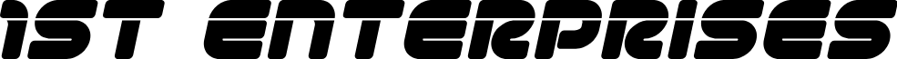 1st Enterprises Laser Italic