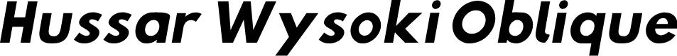 Preview image for Hussar Wysoki Oblique