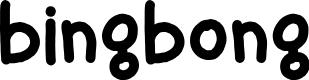 Preview image for bingbong Font