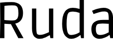 Preview image for Ruda Font