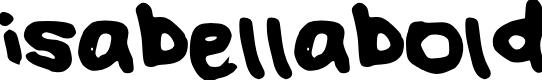Preview image for isabellabold Font