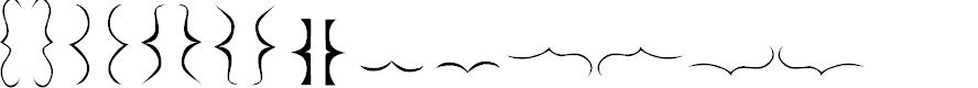 Preview image for Bella K. Brackets - Font