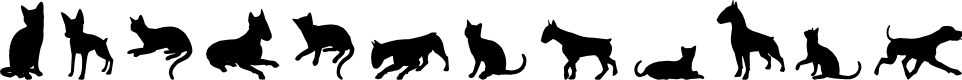 Preview image for Cats vs Dogs LT Font