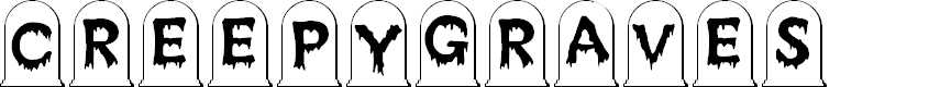 Preview image for CreepyGraves Font