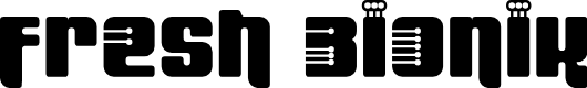 Preview image for Fresh Bionik SE Font