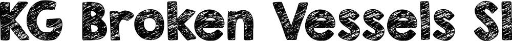 Preview image for KG Broken Vessels Sketch Font