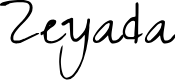 Preview image for Zeyada Font