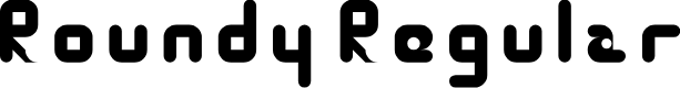 Preview image for Roundy Regular Font
