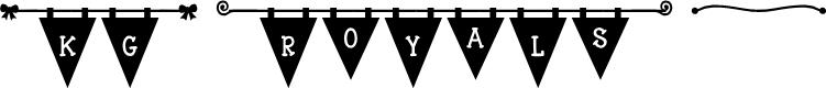 Preview image for KG Royals Font