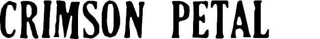 Preview image for Crimson Petal Font