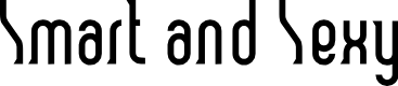 Preview image for Smart and Sexy Font