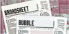 Broadsheet Bubble Font screenshot vehicle