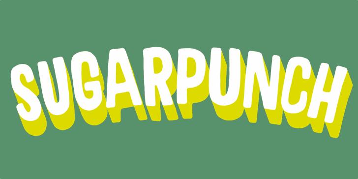 Sugarpunch DEMO Font design graphic