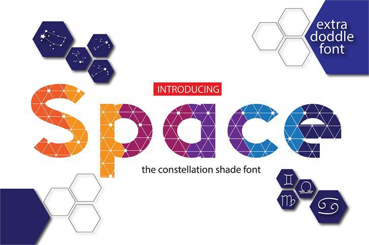 Space Font screenshot