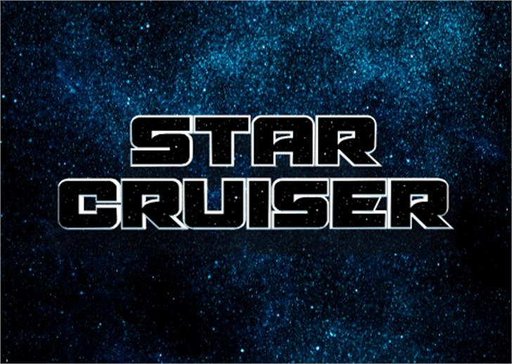 Starcruiser Font screenshot