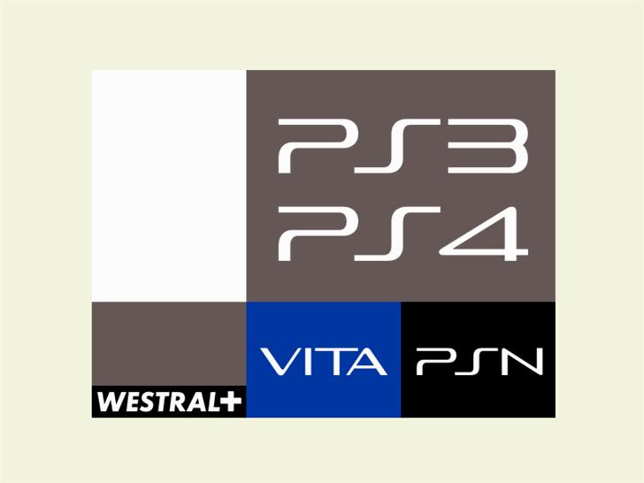 Slim Play Font design graphic